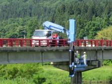 橋梁補修設計(現地調査)